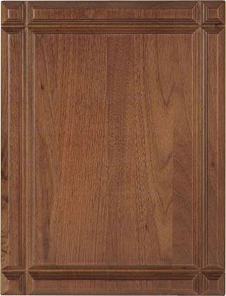 Image de Plaque honorifique bois véritable avec rainure