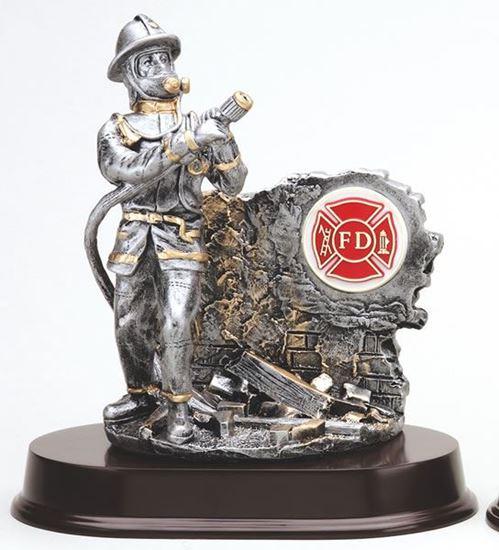 Image sur Trophée pompier
