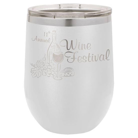 Image sur Verre à vin