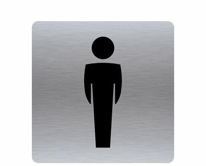 Image de Affiche toilette homme