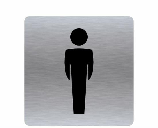 Image sur Affiche toilette homme