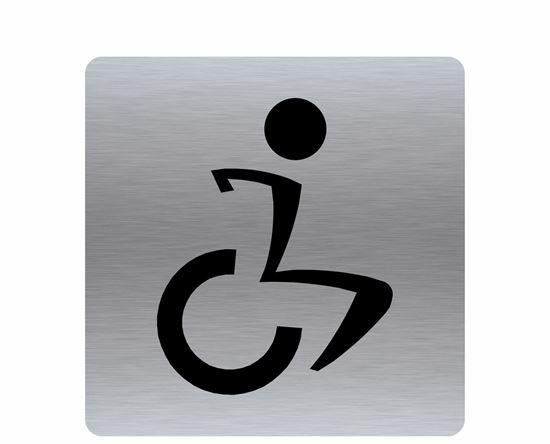 Image sur Affiche toilette handicapé