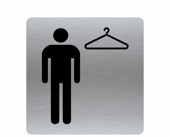 Image sur Affiche vestiaire homme