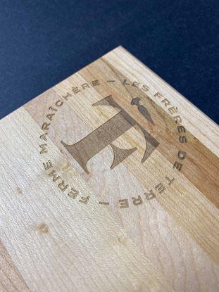 Image de Planche à pain gravée