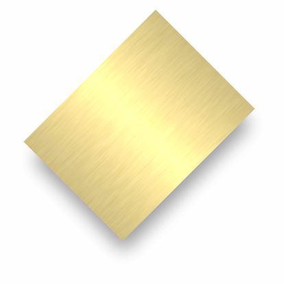 Image de Tôle d'aluminium or brillant