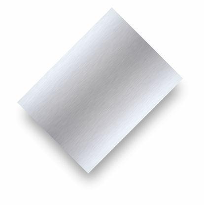 Image de Tôle d'aluminium argent brillant