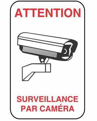 Image de Enseigne surveillance caméra