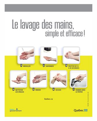 Image de Autocollant lavage des mains