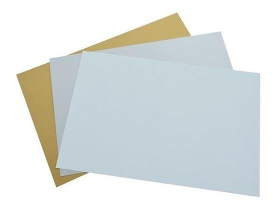 Image sur Épinglette aluminium blanc aimantée